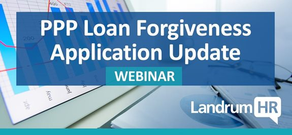 PPP Loan Forgiveness Application Update