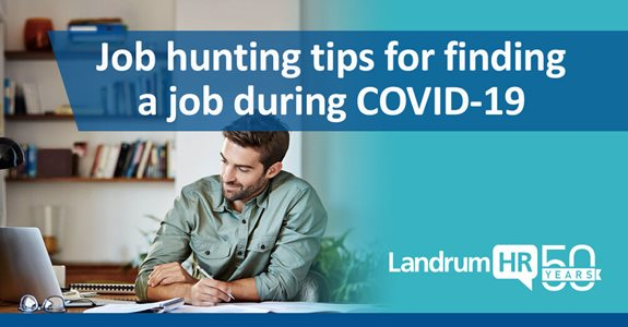 Job hunting tips to find a job during COVID-19